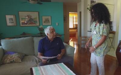 ¿Cómo buscar apoyo para cuidar a alguien que sufre de alzhéimer?
