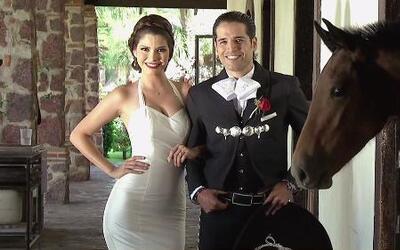 La familia de  Ana Patricia y Luis llegó de todos lados para la boda