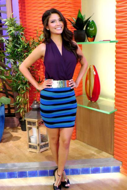 Julio 29, 2014: Aprende a combinar tu ropa. Púrpura, azul y el to...