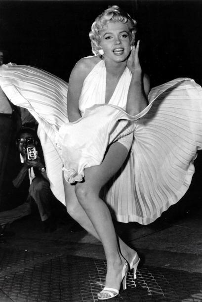 Marilyn Monroe Otra legendaria figura del mundo del espectáculo,...