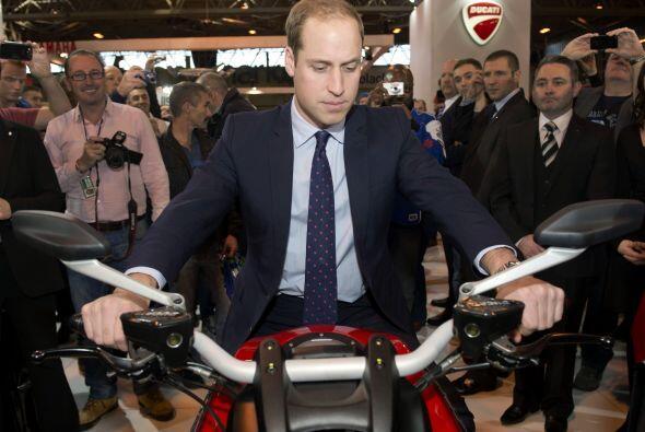 El Duque fue el invitado especial al evento Motorcycle Live en el Nation...