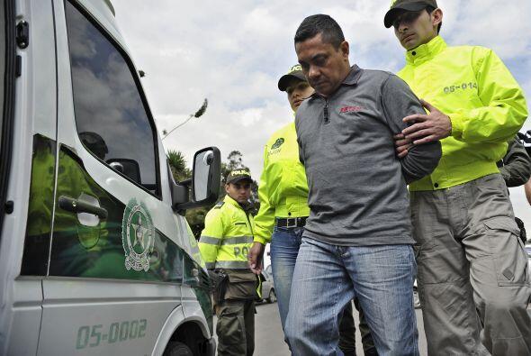 Las autoridades colombianas detuvieron en Cali al presunto narcotrafican...