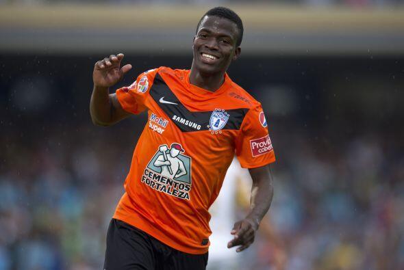 El delantero ecuatoriano se destapó con 12 goles en su debut en M...