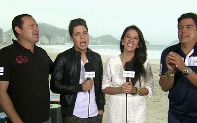 ¿Será que Maity Interiano se enamoró en Brasil?