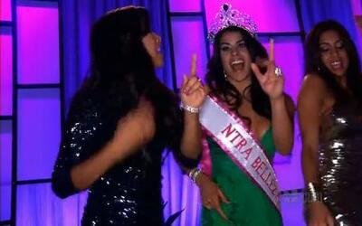 Las chicas de Nuestra Belleza Latina celebraron el triunfo de Vanessa De...