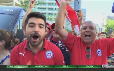 Así se vivió la final de la Copa América Centenario