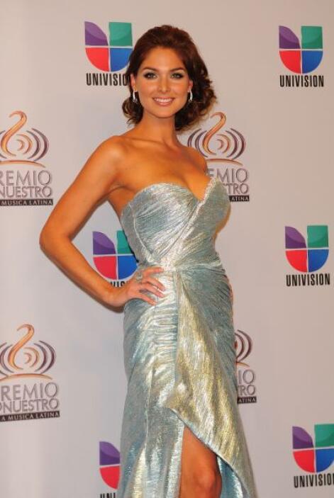 Blanca Soto llegó vestida para ganar en 2011.