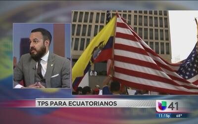 Inicia semana crítica sobre TPS para ecuatorianos