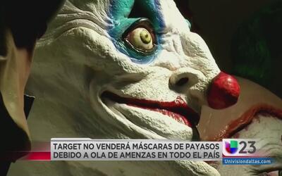 Target suspende la venta de máscaras de payasos
