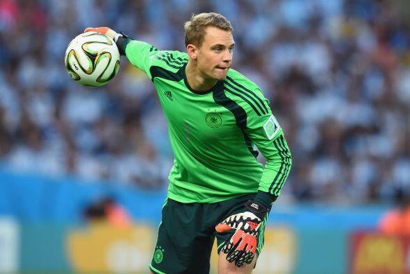 Manuel Neuer fue designado el portero del once inicial por tus grandes a...