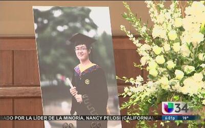Último adiós a estudiante de USC