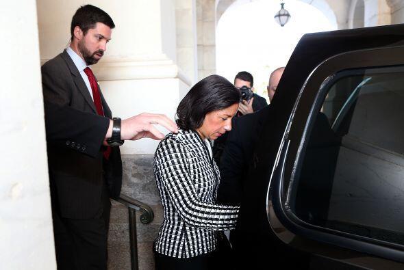 Se esperaba que asumiera como secretaria de Estado para este segundo man...