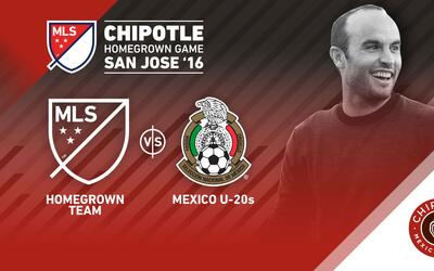 Homegrown MLS vs Sub-20 México | Landon Donovan
