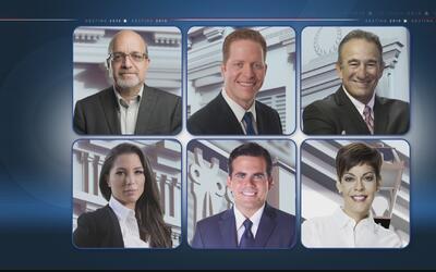 Candidatos a la Gobernación de Puerto Rico