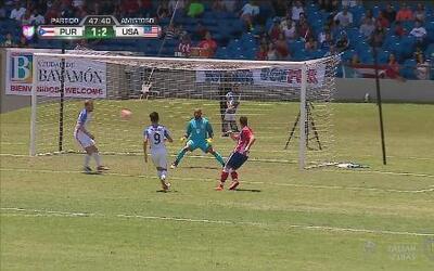 Manolo Sánchez casi hace un golazo y deja ir el empate de Puerto Rico an...