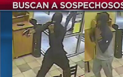 Buscan a sospechosos por robo a mano armada en un Subway de Sugarland
