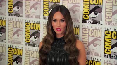 Megan Fox se roba el show en Comic Con