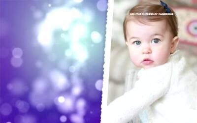 Celebración del primer cumpleaños de la princesa Carlota