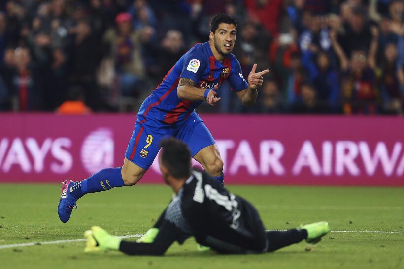 Messi y Suárez mantienen al Barcelona al acecho del Madrid 6362555591009...