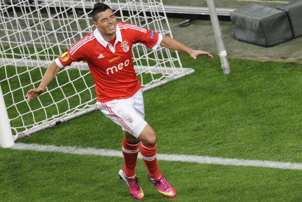 Para el segundo tiempo, el Benfica seguía con la mira chueca al desaprov...