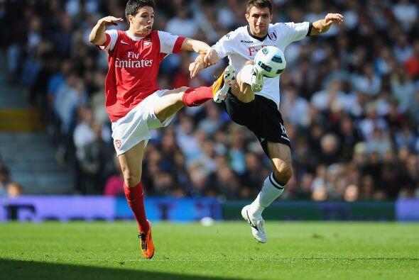 Pero Fulham fue mejor en la cancha e impidió que Arsenal lograra...