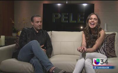 """Seth Michaels habla de su participación en la película de """"Pele"""""""