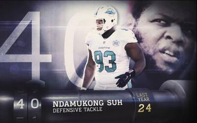 Top 100 Jugadores del 2016: (Lugar 40) DT Ndamukong Suh