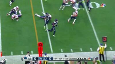 Impactante fractura de Jeremy Lane en el Super Bowl XLIX