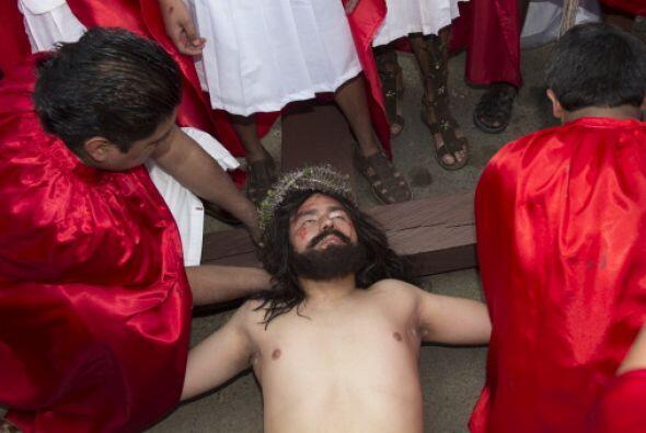 Además de ser seguida por miles de personas, la Pasión de Iztapalapa es...