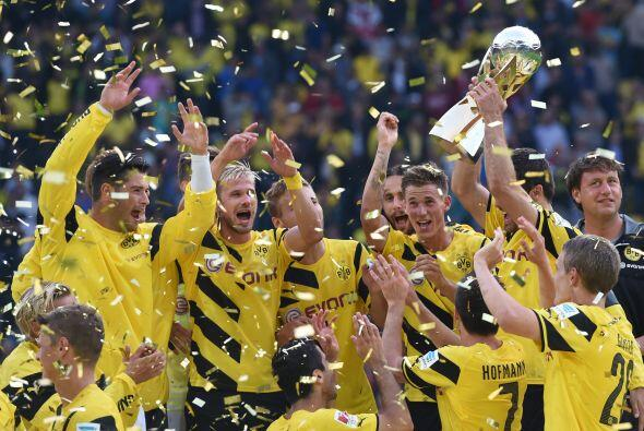 Dortmund venció 3-0 en Munich la campaña pasada pero perdió la final de...