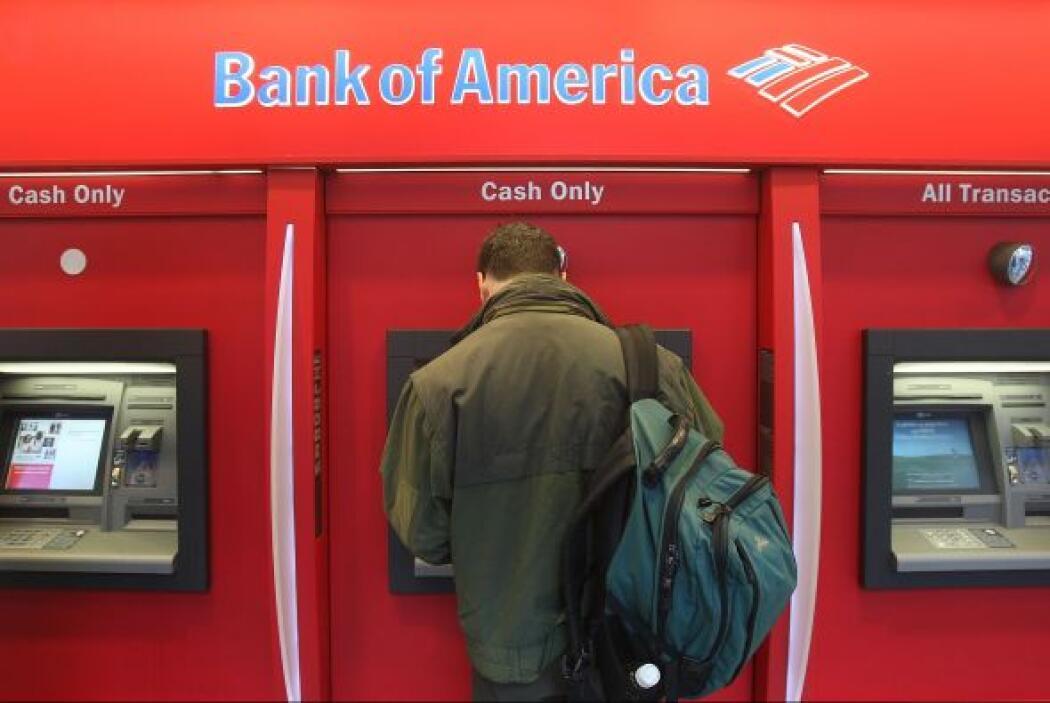 2. BANK OF AMERICA   Este banco, que tiene sede en la Carolina del Norte...