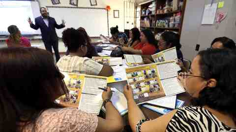 Maestros del sistema de educación pública de Puerto Rico e...