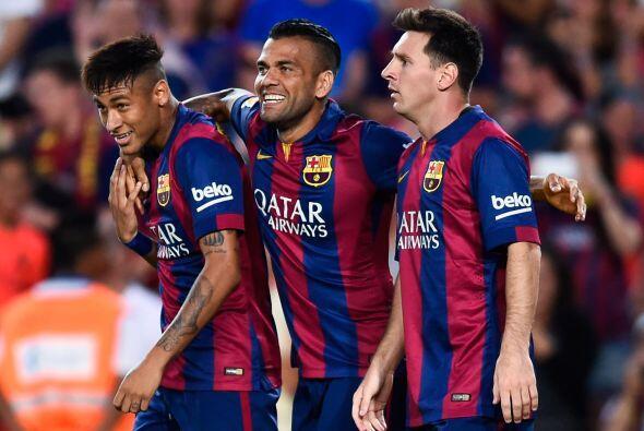 Pero Neymar firmó el tercer tanto del Barcelona antes de que term...