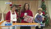 Ciudadanía y regalos navideños en Los Ángeles