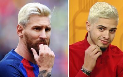 Como Leo Messi o James Rodríguez: Únete a la tendencia del pelo platinad...
