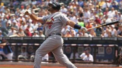 Regresó el bat de Pujols y los Cardenales vencieron a los Mets a domicilio.