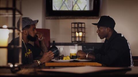 Una cena entre amigos, Odell Beckham Jr. de la NFL y David Alaba de la B...