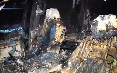 'Miami en un Minuto': buscan a los responsables de quemar cuatro vehícul...