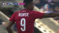 Goooolll!! Roberto Nurse mete el balón y marca para Panamá