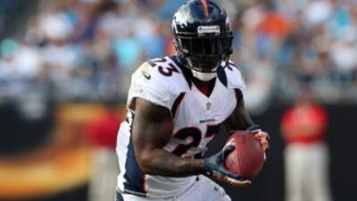 El corredor de los Broncos lleva una buena rehabilitación pero no ha rec...