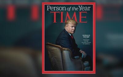 """Trump nombrado """"El hombre del año"""" según la revista TIME"""