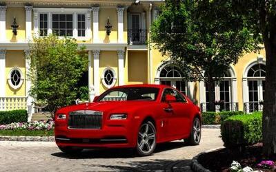 Rolls-Royce presentó el Wraith St. James Edition, una edición especial d...