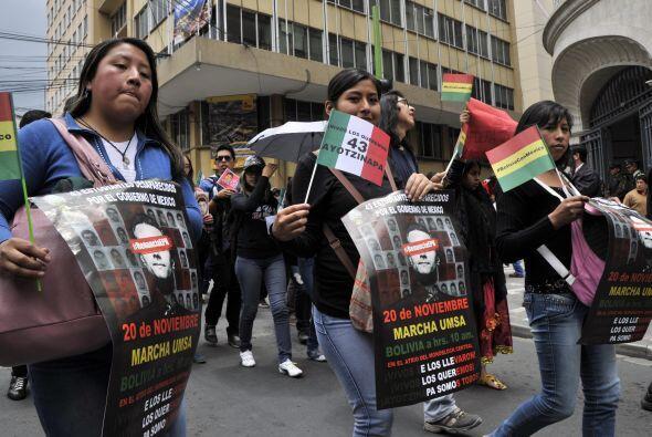 Pero las manifestaciones no se realizarían únicamente en México.