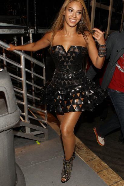 Desde que subía al escenario con Destiny's Child, siempre fue la más fem...