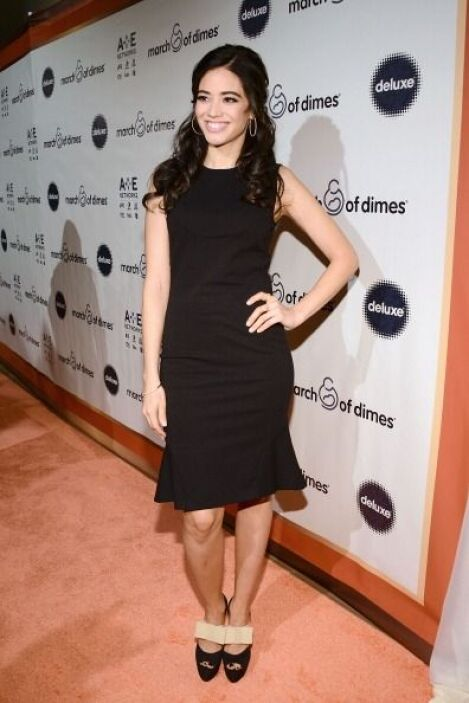 La actriz Edy Ganem también acudió a la alfombra que realizó la fundació...