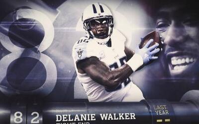 Top 100 Jugadores del 2016: (Lugar 82) TE Delanie Walker