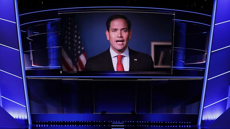 Marco Rubio anuncia su respaldo a Donald Trump