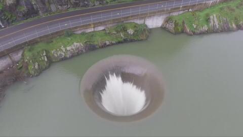 Descubre el 'Hoyo Glorioso' una solución de ingeniería para evitar inund...