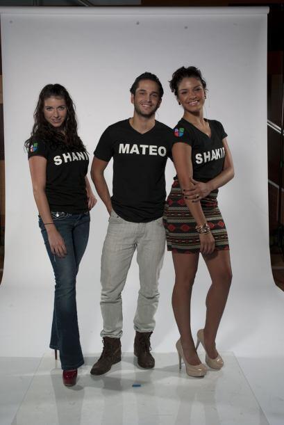 """Shanik es la manzana de la discordia y Mateo y Shakira son """"peace a..."""