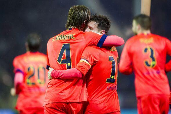 Los catalanes dependen mucho de lo que haga Leo y su estupenda forma los...
